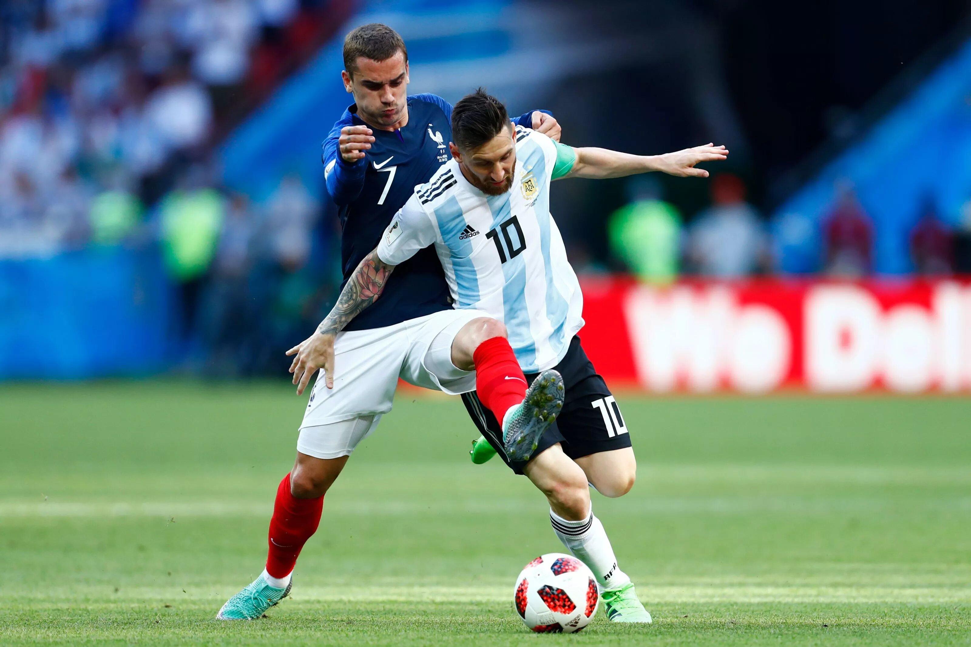 L. Messi e A. Griezmann Copa do Mundo