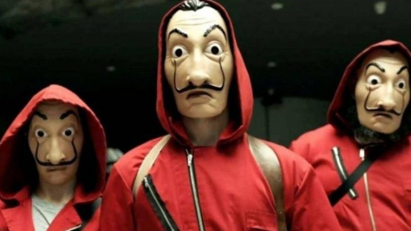 La casa de papel - 3 personagens