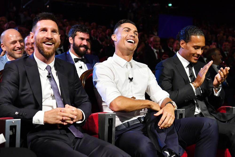 Messi, Ronaldo e Van Dijk